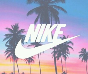 nike, wallpaper, and palms image