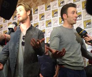 chris evans, Marvel, and thor image