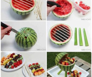diy, FRUiTS, and summer image