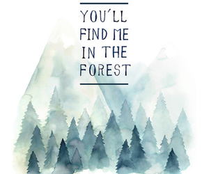 quote and forest image