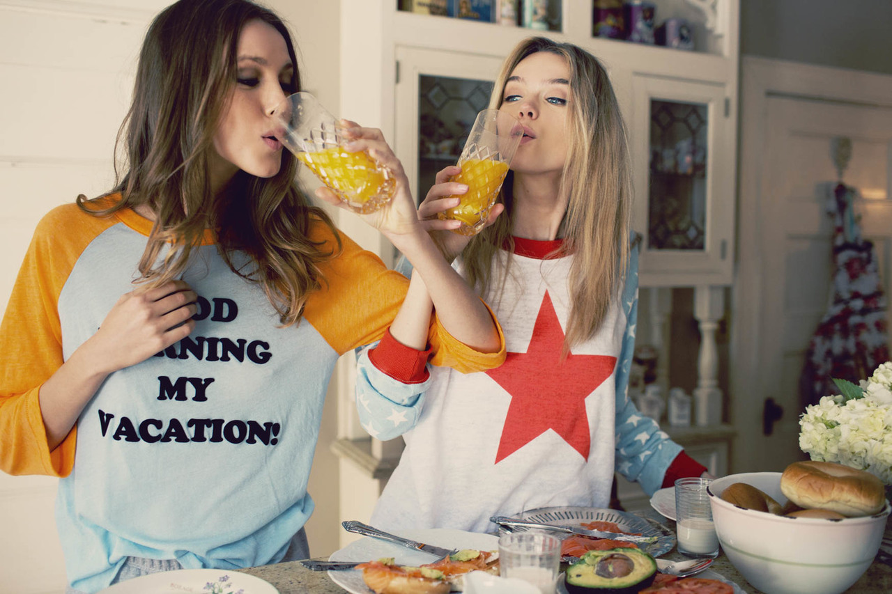 wildfox, best friends, and breakfast image