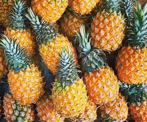 pineapple and food image