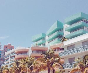 america, beach, and blue sky image