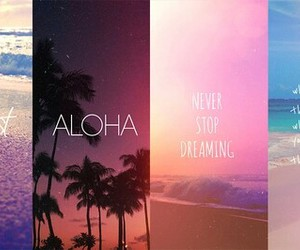 dreaming, wanderlust, and beach image