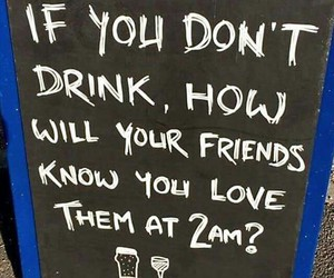 friends, drink, and funny image