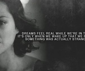 Dream, quote, and inception image