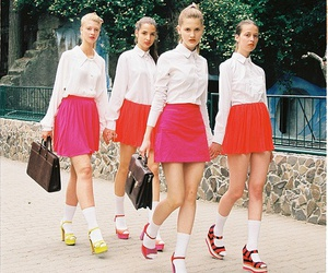 clothing, girls, and grunge image