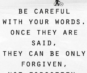 quote, words, and forgive image