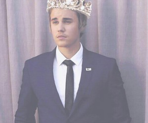 king and justin bieber image