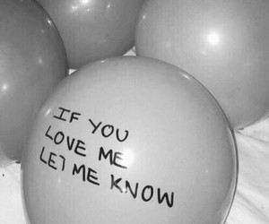 balloons, love, and black image
