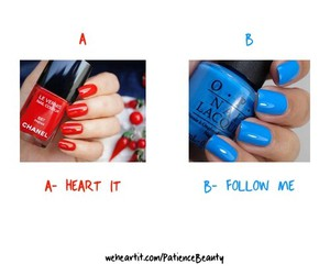 blue, follow, and heart image