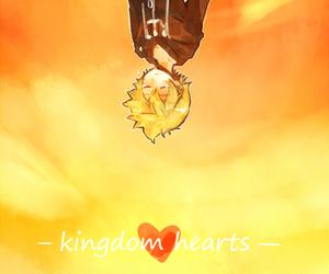 kingdom hearts, sky, and roxas image