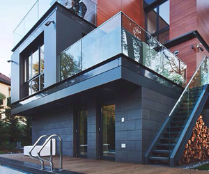 house, modern, and life goals image