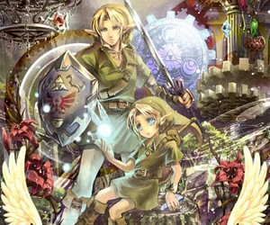 link and ocarina of time image