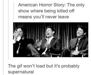 supernatural, funny, and spn image