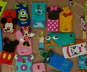 accessories, disney, and phone image