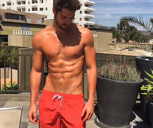 boy, abs, and model image