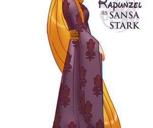disney, game of thrones, and rapunzel image