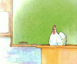 Chicken, manga, and nagoya image