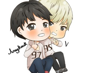 fanart, bts, and taekook image