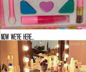 makeup, funny, and make up image