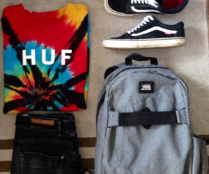 vans, canon, and huf image