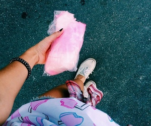 pink, candy, and girl image