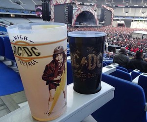ac dc, band, and cup image