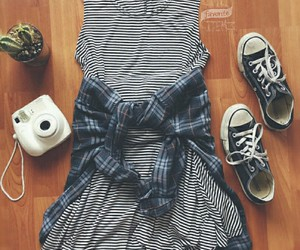 converse, girly, and fashion image