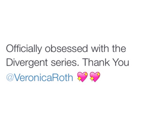 divergent and veronica roth image