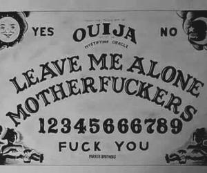 ouija, dark, and alone image
