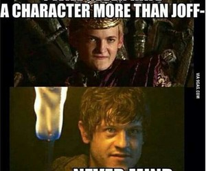 game of thrones, got, and joffrey image