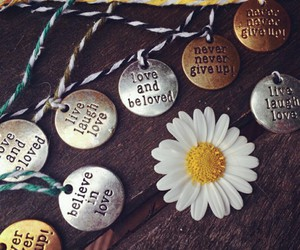 accessories, bracelet, and daisy image
