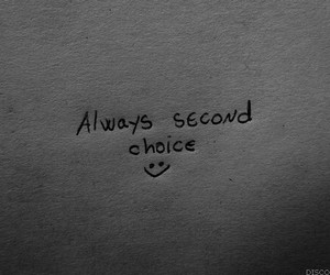 quote, sad, and choice image