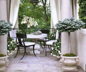 garden and interior image