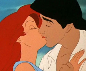 kiss, disney, and ariel image