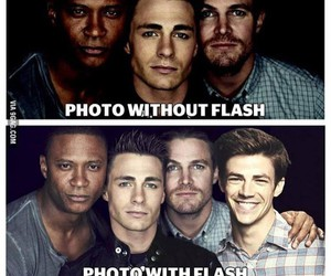 arrow, flash, and funny image