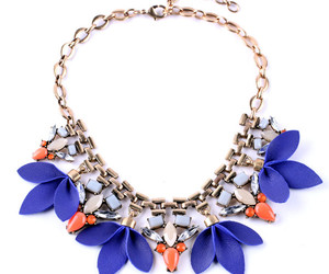 fashion, flower, and jewelry image