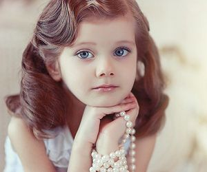 child, beautiful, and girl image