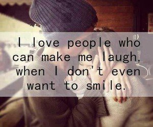 people, smile, and love image