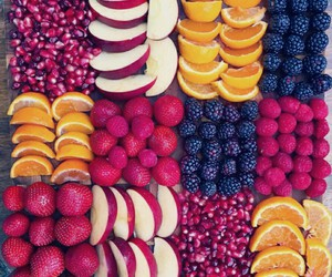 FRUiTS, apple, and berries image