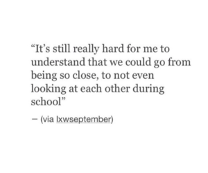 heartbroken, miss, and quote image