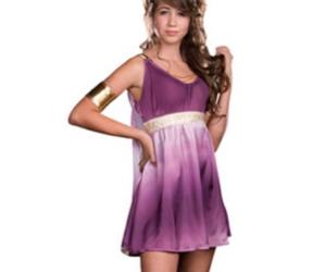 costume, greek, and Halloween image