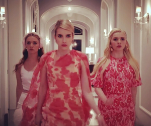 chanel, emma roberts, and girly image