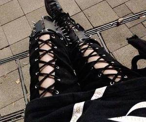 black, spikes, and gothic image