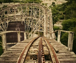 Roller Coaster, fun, and rollercoaster image