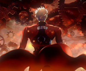 archer, fate stay night, and ubw image