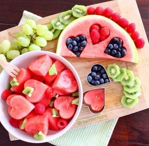 berry, heart, and watermelon image