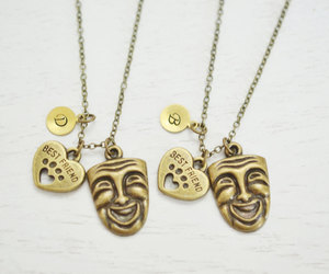 bff, theatre masks, and friendship gift image