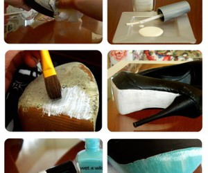 diy, shoes, and heels image